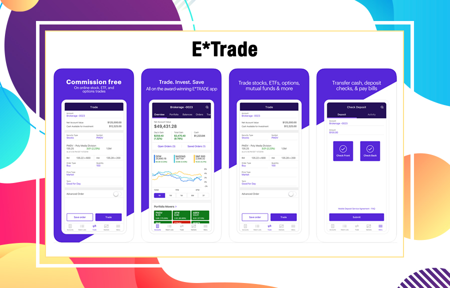 ETrade Investment Apps
