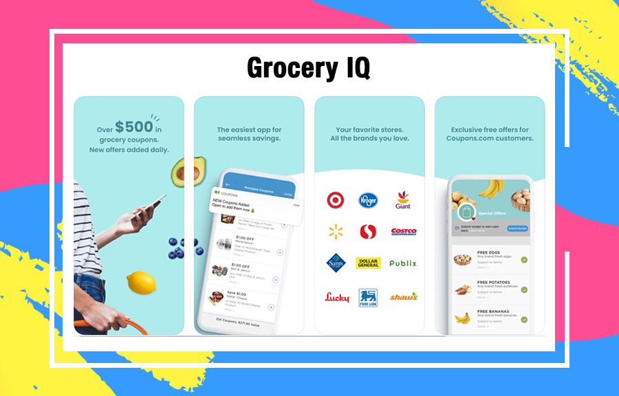 GroceryIQ coupon apps 2020