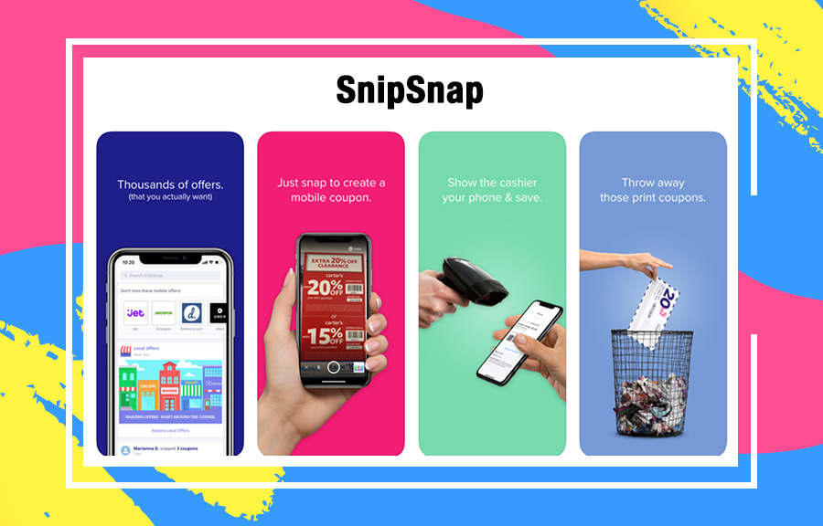 SnipSnap best coupon app