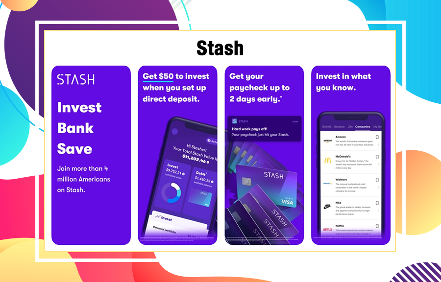 Stash best investment application