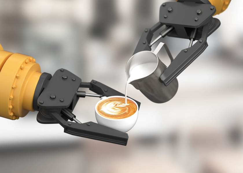 South Korean Café Hires Robot Barista to Minimize Risk of Transmission