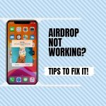 How to fix Apple AirDrop when it stops working? Airdrop Waiting