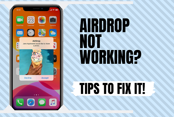 How to fix Apple AirDrop when it stops working?