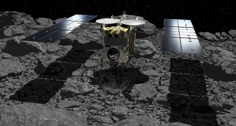 Japanese Spacecraft Sends Stunning Images of 'Ryugu' Asteroid