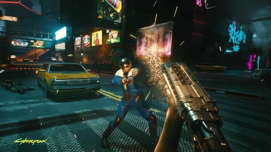 Cyberpunk 2077 Party At Night