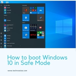 How to Enter Windows 10 Safe Mode