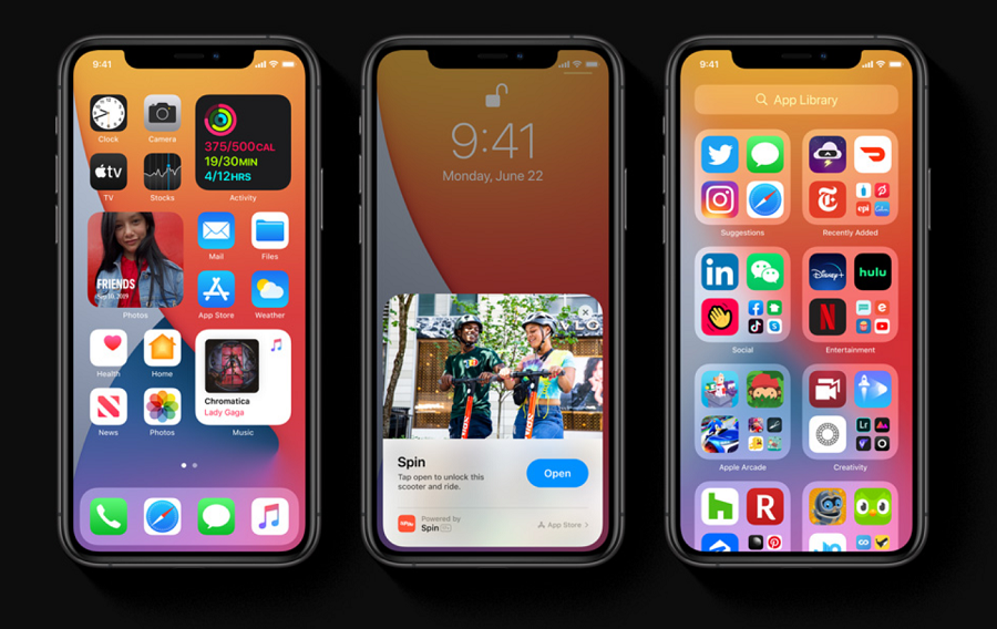 iOS 14 Apple Keynote WWDC 2020