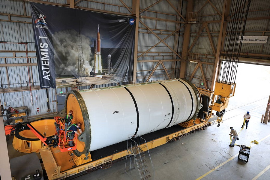 Artemis Missions NASA SLS Solid Rocket Boosters Northrop Grumman