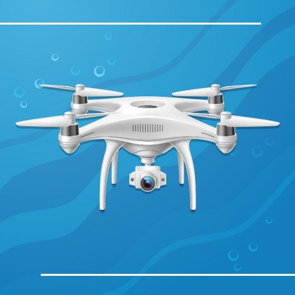underwater drones with camera
