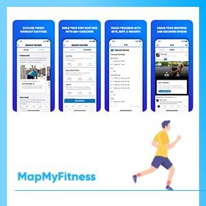 Free running apps walking app map my walk