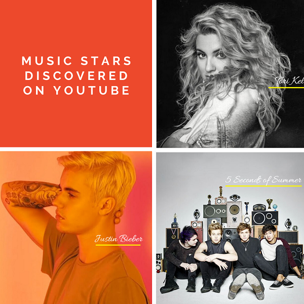 12 Musicians who were discovered on YouTube : YouTube Musicians