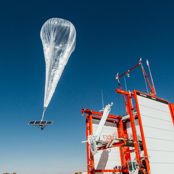 Google Alphabet Project Loon Balloon Internet Floating Cell Phone Tower
