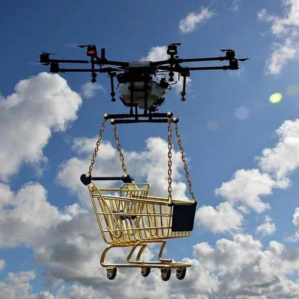 Amazon Delivery Drones for Delivery Consumer Products