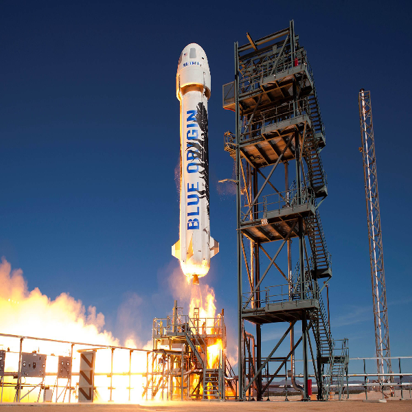 Blue Origin to launch again in Texas