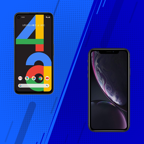 Google Pixel 4a vs Apple iPhone XR