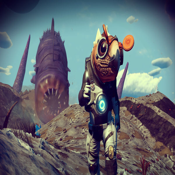 No Man's Sky Origins update by Hello Games.