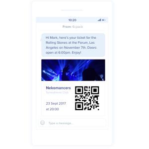 MessageBird Screengrab