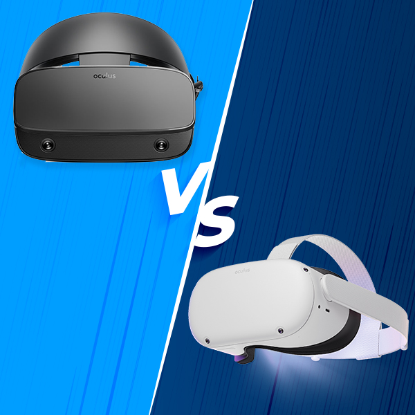 Which one is better? Oculus Quest 2 vs. Rift S!