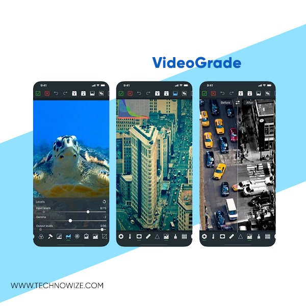 Android and iphone video editing apps