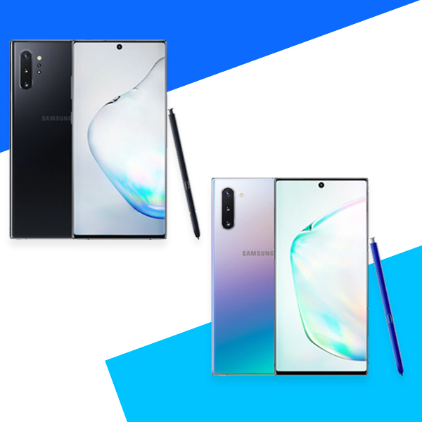 Galaxy Note 10 and Galaxy Note 10+