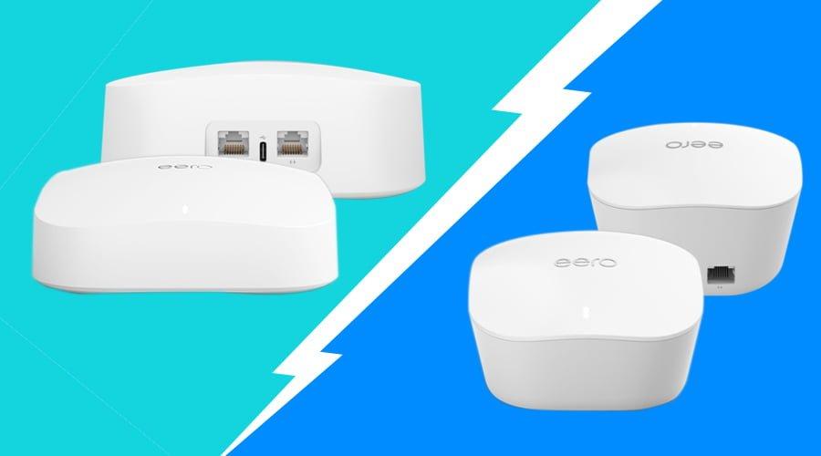 Eero Pro 6 and Eero Pro specs and upgrades.