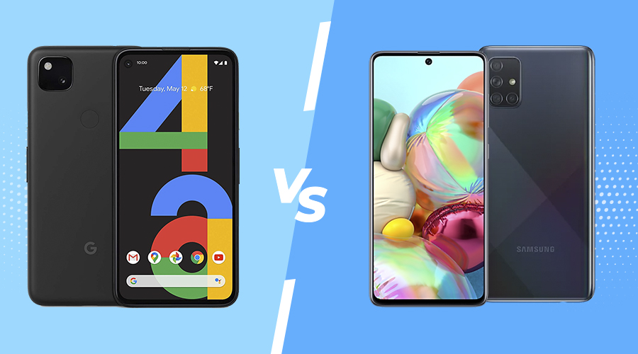 Pixel 4a vs Galaxy A71