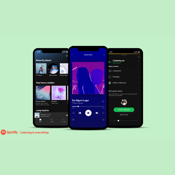 Spotify story update feature