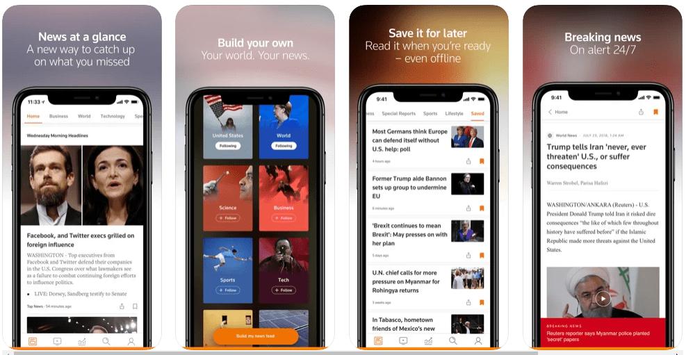 Best news apps most popular