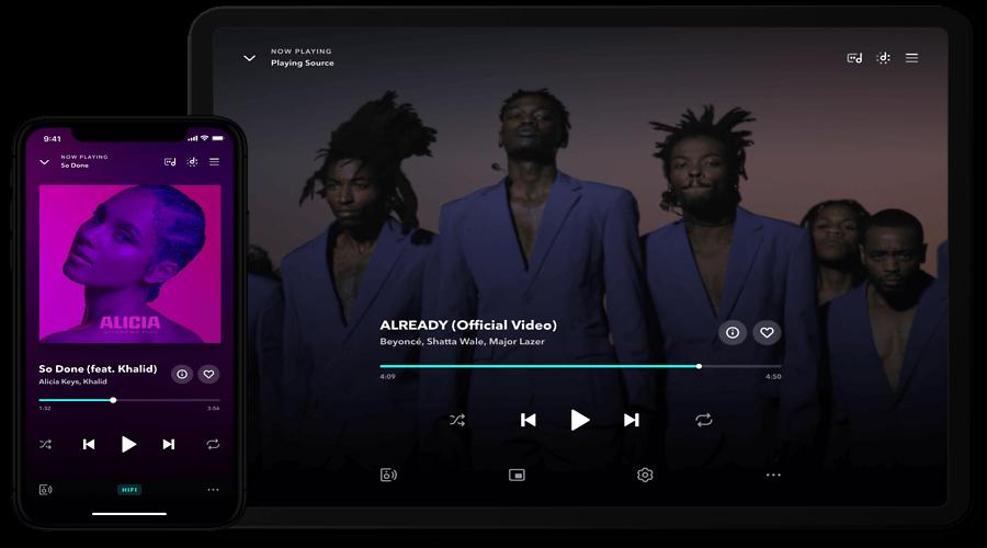 Tidal vs Spotify vs Apple Music