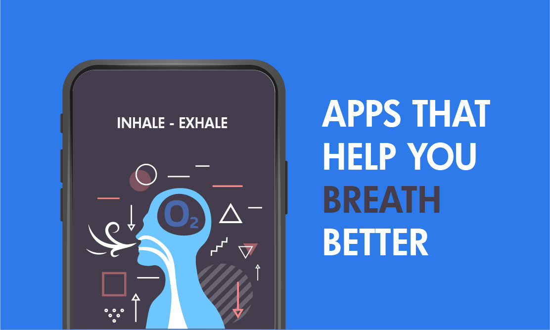Breathe app to reduce stress